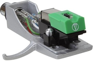 Teac TN-300-B HiFi-Plattenspieler (Riemenantrieb, 33/45rpm, USB-Ausgang für Mac/PC, Line/Phono Umschalter) schwarz -