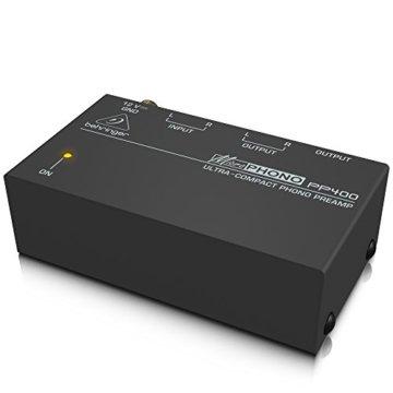 Behringer PP400 Microphono Plattenspieler Vorverstärker - 4