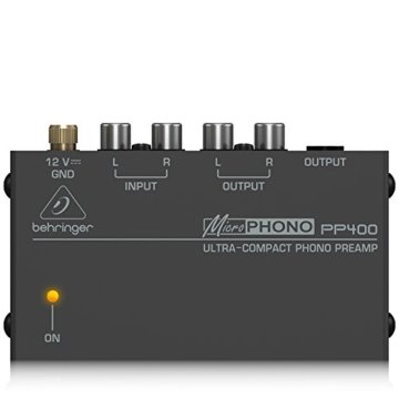 Behringer PP400 Microphono Plattenspieler Vorverstärker - 5
