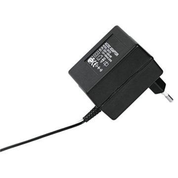 Hama Stereo Phono-Vorverstärker PA 506 (Für Plattenspieler, Inkl. Netzadapter 230V/50Hz, 300mA, Cinchkabel 0,9 m) schwarz - 3