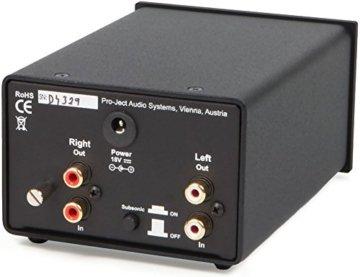 Pro-Ject Phono Box DS - Phono-Vorverstärker (MM/MC) schwarz - 2